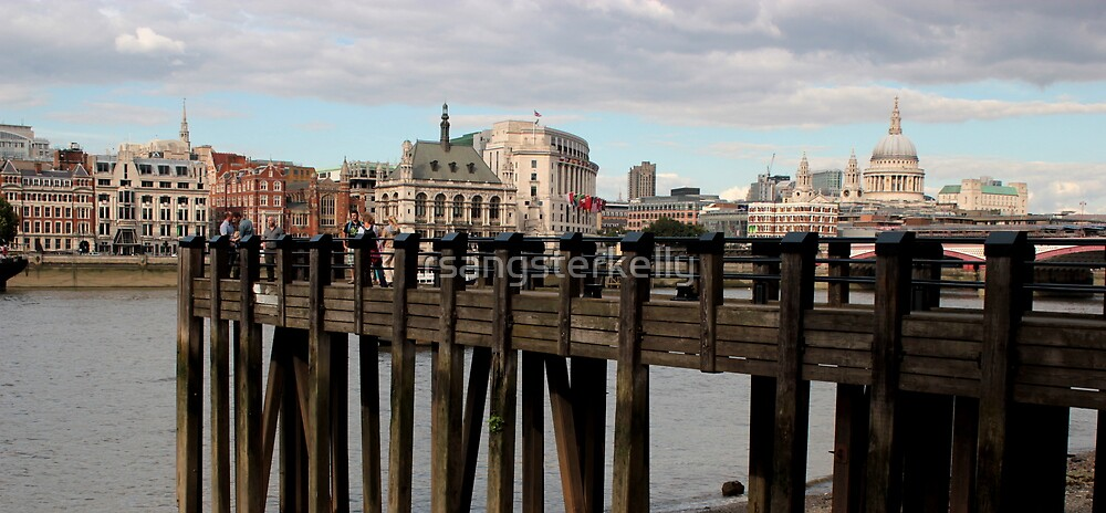London - The Thames by rsangsterkelly