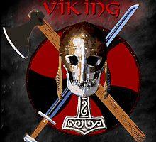 VIKING – Shield Skull by Bela-Manson