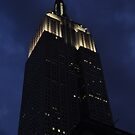 Empire State Building at dusk by Jill Vadala