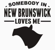 Somebody In New Brunswick Loves Me Baby Tee