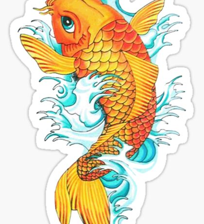 Carp Koi Sticker