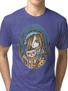 Cheeky Cheshire Tri-blend T-Shirt