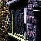 Window with bricks by thudjie