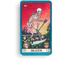Tarot Card - Death Canvas Print