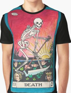 Tarot Card - Death Graphic T-Shirt