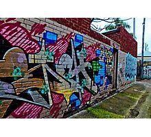 Urban Laneway (2) Photographic Print