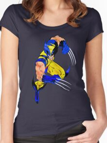 Wolverine Women's Fitted Scoop T-Shirt