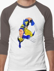 Wolverine Men's Baseball ¾ T-Shirt