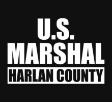 U.S. Marshal Harlan County by waywardtees
