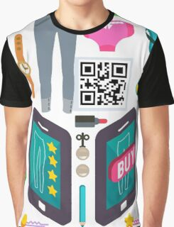 Proximity Shop Concept Isometric Graphic T-Shirt