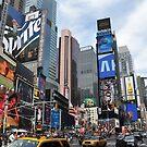 Times Square by Jill Vadala