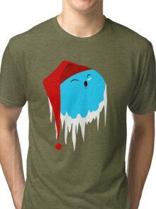 Santa Claus Planet Tri-blend T-Shirt