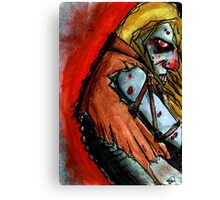 zombies back Canvas Print