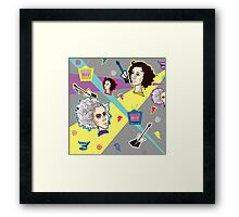 Saved by the St Vincent Framed Print