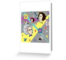Saved by the St Vincent Greeting Card