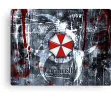 Resident Evil 3 Canvas Print