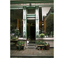 Flemish Flowershop Photographic Print
