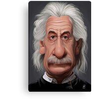Celebrity Sunday - Albert Einstein Canvas Print