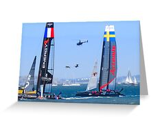 American Cup 8-26-12 Greeting Card