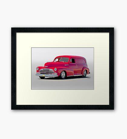 1947 Chevrolet Stylemaster Delivery Sedan Framed Print
