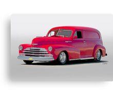 1947 Chevrolet Stylemaster Delivery Sedan Canvas Print