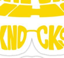 Knock, knock Sticker