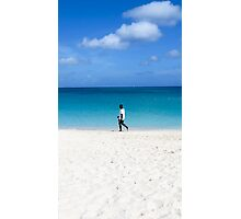 One on the beach. Photographic Print