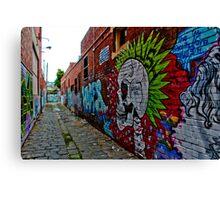 Urban Graffiti Canvas Print