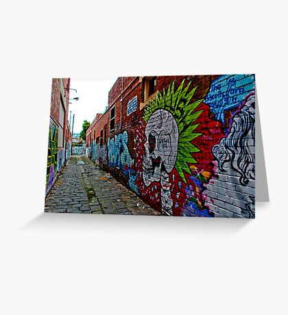Urban Graffiti Greeting Card