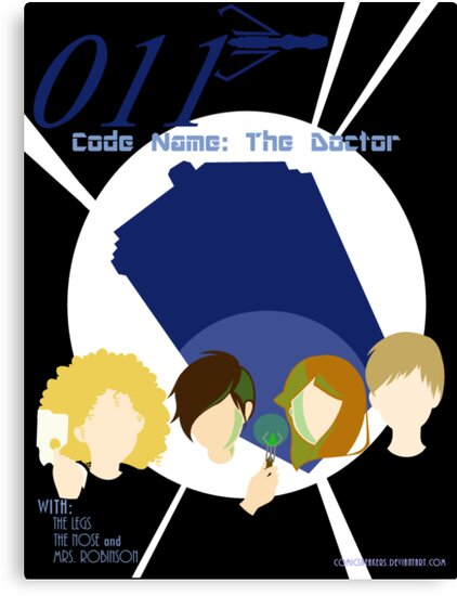 Code Name: The Doctor Alternative Poster by Comic Sneakers