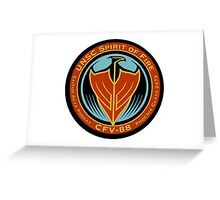 UNSC Spirit of Fire Greeting Card