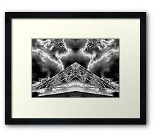 WDW Positive and Negative  Framed Print
