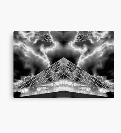 WDW Positive and Negative  Canvas Print