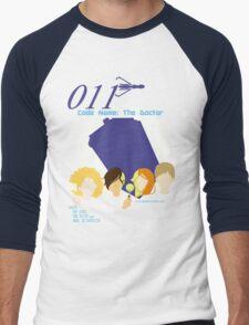Code Name: The Doctor V.2 Men's Baseball ¾ T-Shirt