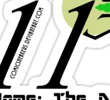 011 Black Sticker