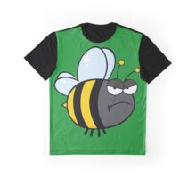 Angry bee Graphic T-Shirt