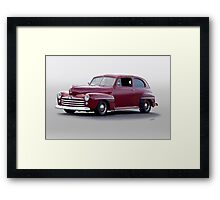 1947 Ford Deluxe Sedan Framed Print