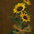 Sunflower Bouquet by Maria Dryfhout