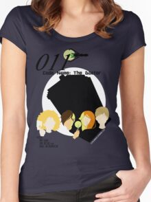 Code Name: The Doctor V.4 Women's Fitted Scoop T-Shirt