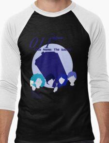 Code Name: The Doctor BlueTone for White Shirt Men's Baseball ¾ T-Shirt