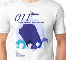 Code Name: The Doctor BlueTone for White Shirt Unisex T-Shirt