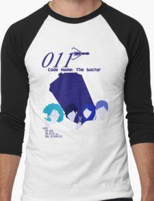Code Name: The Doctor BlueTone Men's Baseball ¾ T-Shirt