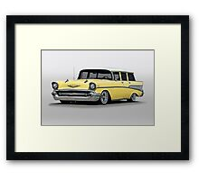 1957 Chevrolet Bel Air Wagon Framed Print