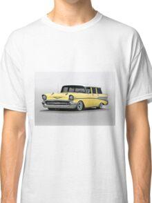 1957 Chevrolet Bel Air Wagon Classic T-Shirt