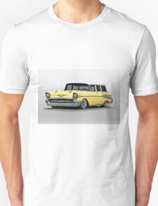 1957 Chevrolet Bel Air Wagon T-Shirt