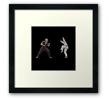 karate kid Framed Print