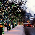 Montreal, Quebec, Canada - Christmas Holidays on Mc Gill. by Jean-Luc Rollier