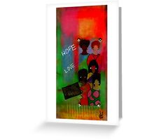 Heavenly Messengers Greeting Card