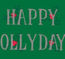 Happy Hollydays Sticker