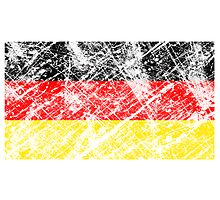 vintage flag of germany by nadil
